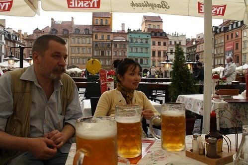 Chúng tôi rất lý thú khi được nói chuyện, trao đổi với người Việt, nghe người Việt nói chuyện mỗi lần đi thăm quan thành phố.