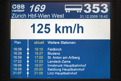 ÖBB railjet - Speed