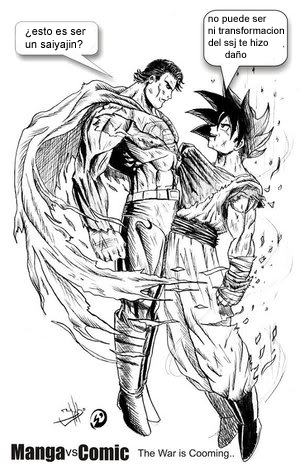 Superman vs Son Goku quien gana? 4254914944_d0e25af064_o