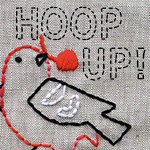 Hoop Up Button
