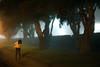 Foggy Los Angeles Town (laurenlemon) Tags: street me fog night losangeles interestingness streetlight empty january explore frontpage 2010 explored canoneos5dmarkii laurenrandolph laurenlemon wwwphotolaurencom