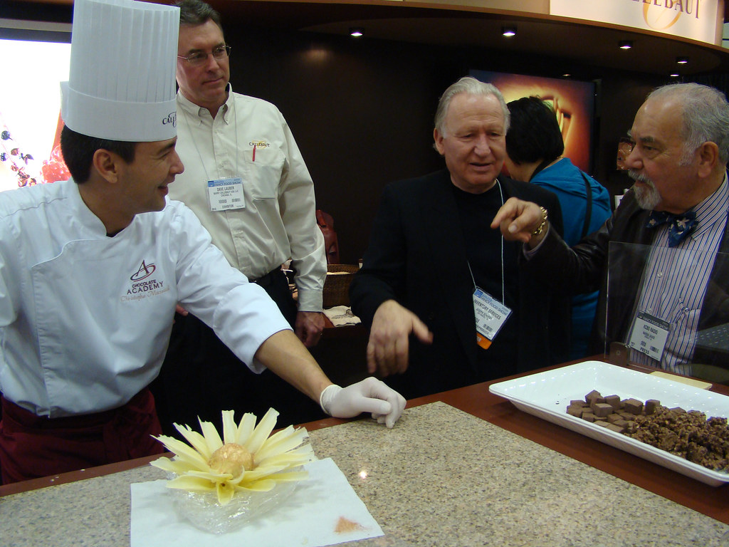 Callebaut Chocolate with Narsai David and Joseph Schmidt