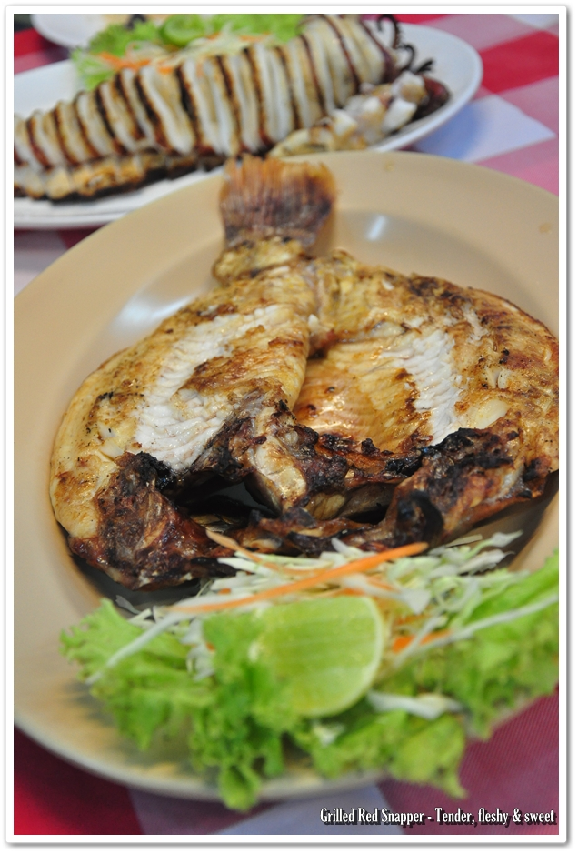 Grilled Red Snapper @ Chiang Rai Seafood, Phuket
