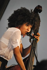 Esperanza Spalding (SynchronicityProductions) Tags: life new music heritage love fleur festival america canon de photography google nikon orleans louisiana peace photographer photos united cristina may jazz smith noel tent international soul april states jazzfest productions 2009 consciousness esperanza global synchronicity conscious spalding d60 wwoz