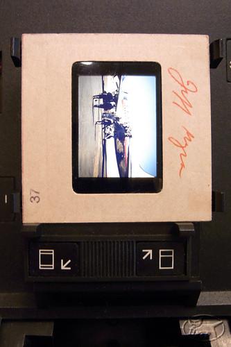 review polaroid polaprinter 3510 slide copier instant slide