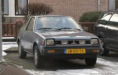 Mitsubishi Colt GL 1982 (XBXG) Tags: auto old classic netherlands car japan vintage asian japanese 1982 automobile nederland voiture alkmaar paysbas japon colt mitsubishi ancienne gl asiatique japonaise mitsubishicolt sidecode4 jb03tr