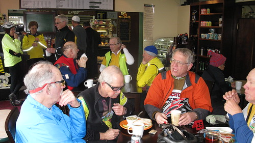 Tacoma Wheelmen Mon Hale Hearty & Ready for Coffee Ride  Feb 1st 018