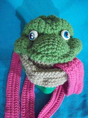 101_1016 (CrazyHatSociety) Tags: charity green animals yellow haiti hats frogs giraffes etsy donations ravelry crazyhatsociety crazyhatsocietyetsycom