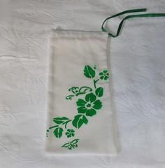 Saquinho na cor verde (Miscelanias da Ni) Tags: e saquinhos embalagens