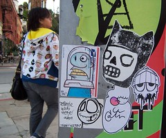 Pop-Up Notes (Question Josh? - SB/DSK) Tags: streetart la sticker stickers josh question echopark simple uwp catv questionjosh ceito starheadboy