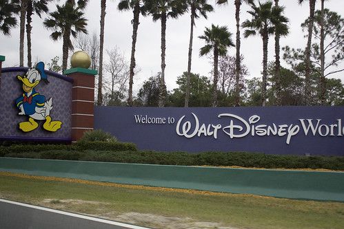 Entering Walt Disney World