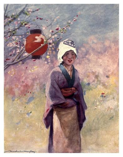 011-Joven japonesa-Japan  a record in color-1904- Mortimer Menpes