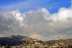 (Orangeya) Tags: road trip sky mountain clouds real shot edited beirut liban 500th albandri not 0rangeya