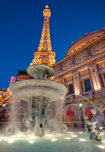 Paris, Las Vegas by DaveWilsonPhotography.