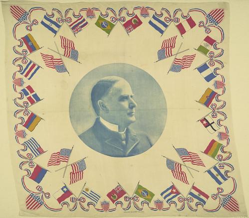 McKinley Western Hemisphere Portrait Handkerchief