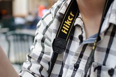 Flikcr Strap in Use (David Van Chu) Tags: food court mall nikon jake jacob use strap jakers flikcr 35mmf18g nikond5000