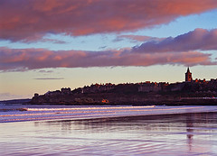 West Sands Sunset (Charlotte Brett Photography) Tags: sunset sea beach scotland fife standrews westsands