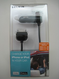 Belkin Auto Charger for iPod and iPhone