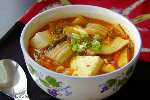 Kimchi Jigae (Kimchi Soup)