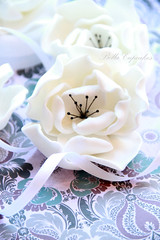 Fantasy Flower? (Bella Cupcakes (Vanessa Iti)) Tags: wedding white black rose peonie fantasyflower bellacupcakes