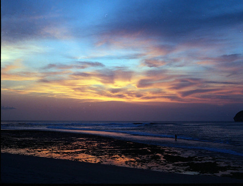 sekongkang sunset