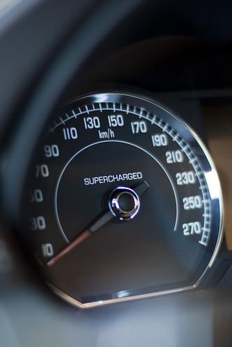 Jaguar XKR convertible supercharge