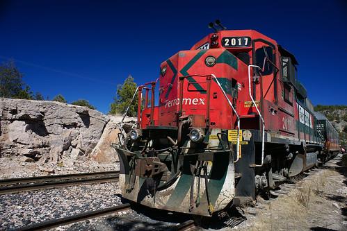 El tren Chepe Chihuahua Pacífico