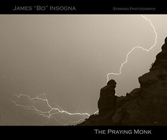 The Praying Monk Lightning Strike