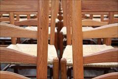 chairs3 (loop_oh) Tags: holland haarlem netherlands dutch chair chairs nederland kirche row rows nl nederlands kerk stuhl kloster sthle oranje niederlande stuehle reihe reihen janskerk