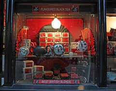 Everything Stops For Tea ! (meg_nicol) Tags: red london fan tea teapot shopwindow conventgarden canonef24105mmf4lisusm ayearinthelifeof canon5d2