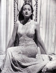 Dorothy Lamour in a publicity photo for Jungle Princess, 1936 (Silverbluestar) Tags: ladies girls bw sexy classic film beautiful beauty fashion 1936 vintage stars 1930s glamour women pretty womens hollywood singer actress movies celebrities brunette gown sequins pinup paramount elegance eveningwear dorothylamour edithhead