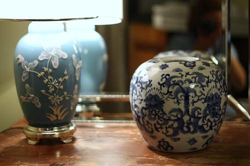 lamp + vase