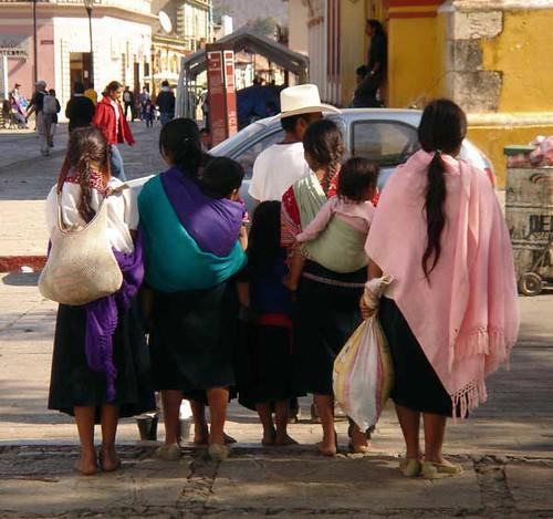 Mayan Baby Wearing in Chiapas, Mexico