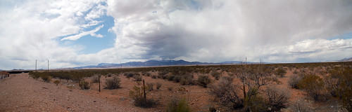 NM rest stop panorama