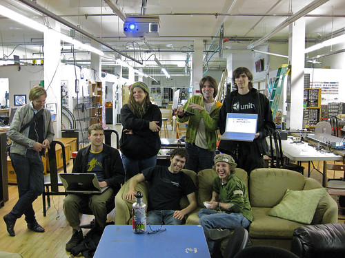 Unity Devs At Gamebridge Unityversity March 24 2010