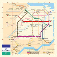 Red del subte de Buenos Aires como en Paris (gac6479) Tags: paris de metro buenos aires