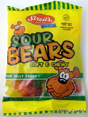 Streit's Sour Bears - Israel Candy