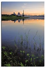 Tranquil (Nora Carol) Tags: lake reflection malaysia putrajayamosque malaysianphotographer noracarol sabahanphotographer greatexifdata landscapephotographerfromsabah womanlandscapephotographer womaninphotography