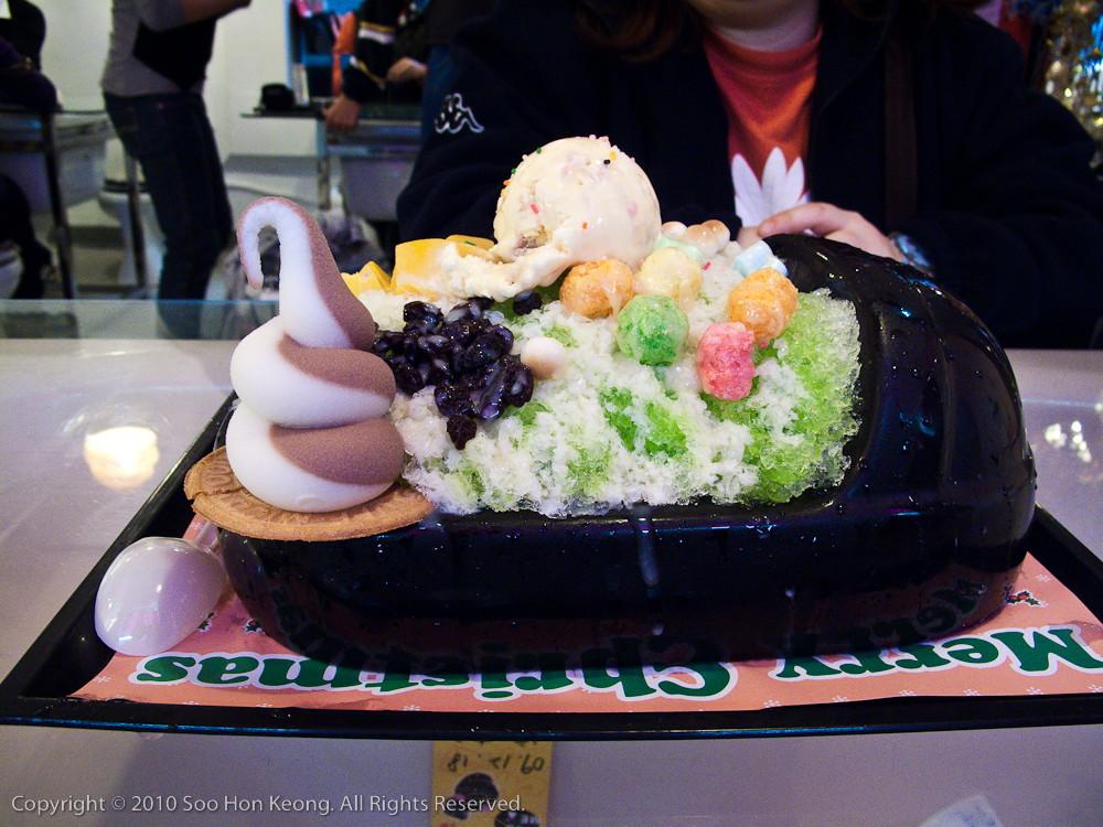 Ice Cream & Ice Crush @ Modern Toilet, Ximending, Taipei, Taiwan