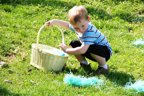 Ganon hunts eggs