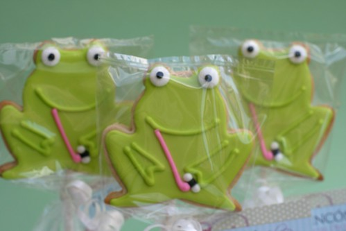 Froggies on a stick