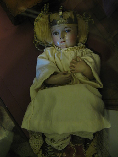Baby Jesus Baptismal Doll, Old Mission, Santa Barbara