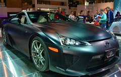It meant to be driven..... (ineedathis, Everyday I get up, it's a great day!) Tags: auto beautiful car dedication nikon manhattan gorgeous fast litter exotic richard v10 sportscar sixspeed lexuslfa internationalautoshow d80 carbonfiberreinforcedplastic 9000rpm48