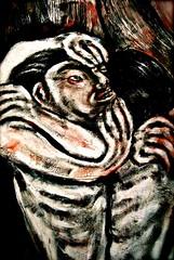 "Painting: ""hidden treasures "" (THE ART OF STEFAN KRIKL) Tags: gold holocaust treasure originalart modernart nazi paintings illustrations loot prints hiddentreasure expressionistprints"