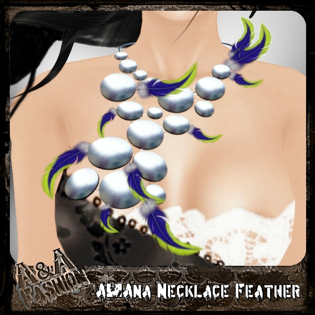 A&Ana Necklace Feather Blow [coming soon]