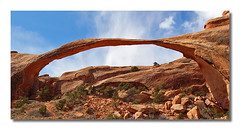 Landscape Arch (rianhouston) Tags: southwest utah arch moab archesnationalpark nationalparks landscapearch