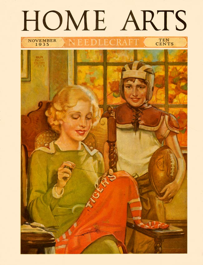Home Arts cover, Nov. 1935