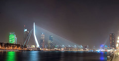 Panorama Erasmusbrug ::HDR (DolliaSH) Tags: dollia sheombar dollias dolliash canoneos50d canon hdr photomatix tonemapping detailsenhancer nightshot rotterdam erasmusbrug brug bridge nachtopname zuidholland place destination location journey tour touring tourism tourist travel traveling visit visiting kopvanzuid night light lights city color colors le longexposure noche nacht stad nuit notte noch reflections haven harbour holland nederland thenetherlands southholland photo photos foto photography europe architecture water river maas urban most ponte pont brcke brucke puente ersmusbrug people