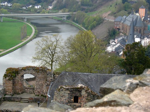Saarburg on the Saar River