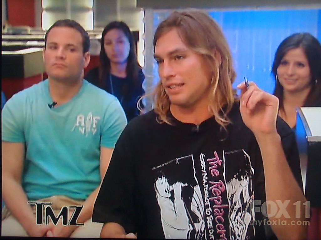 Sorry ma but when the blonde long haired stoner surfer spiccoli guy on tmz